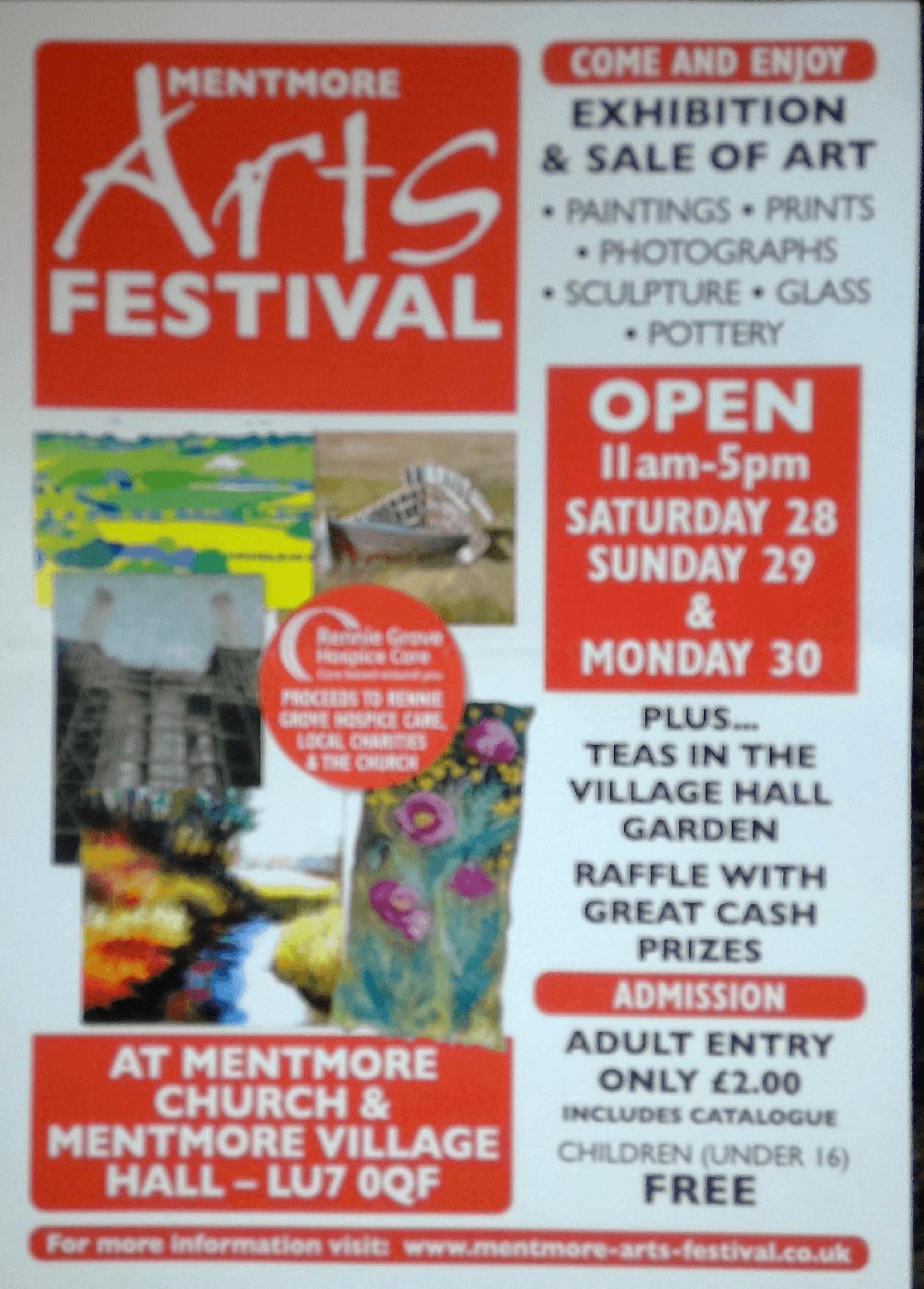 Mentmore Arts 2016