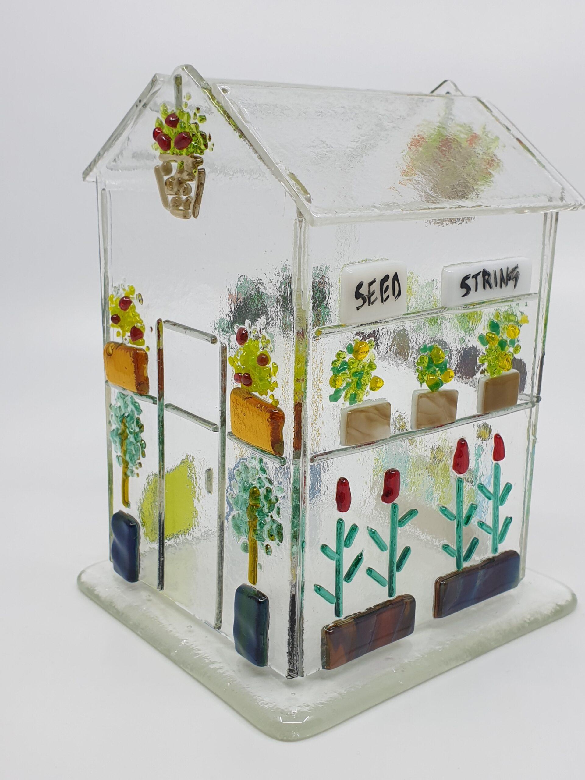 Glasshouse - Greenhouse candle holder